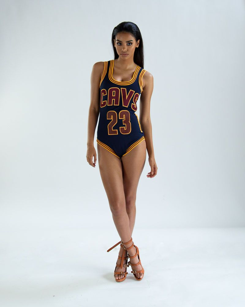 10cbbe554 CLEVELAND CAVALIERS SWIMWEAR - The Kings Ball by JERSEYSUITS. Basketball  Sports jerseys for women.