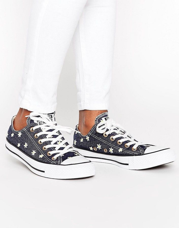 64095966fd66 Converse Chuck Taylor All Star Ox Festival Embroidered Sneakers ...