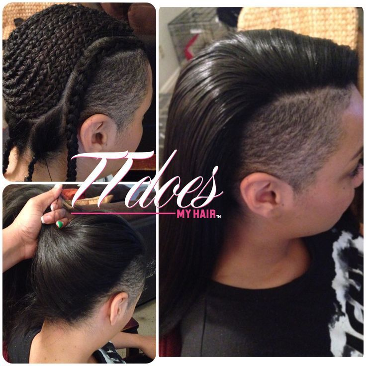 24+ Shaved sides hairstyles with weave trends