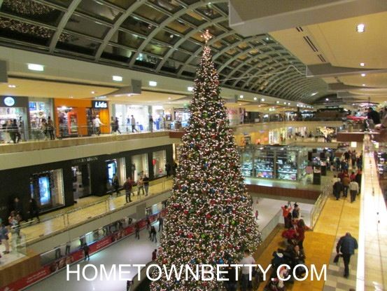 Houston's The Galleria Mall: Changing of the Times (after Christmas shopping) 2013