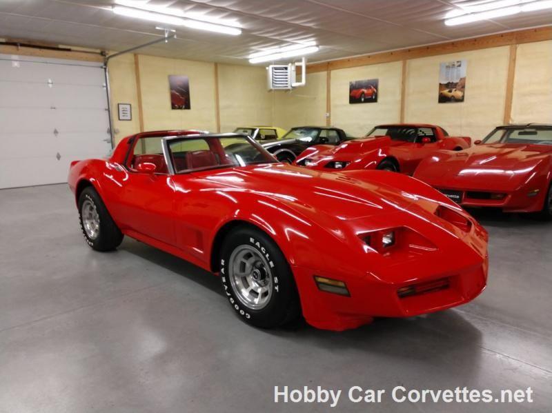 1980 Red Red Corvette Automatic 1980 Corvette T Top For Sale Martinsburg Pennsylvania Corvette For Sale Used Corvette Red Corvette