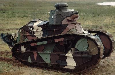 The light tank FT17 - the best WW1 tank.   World War 1 ...