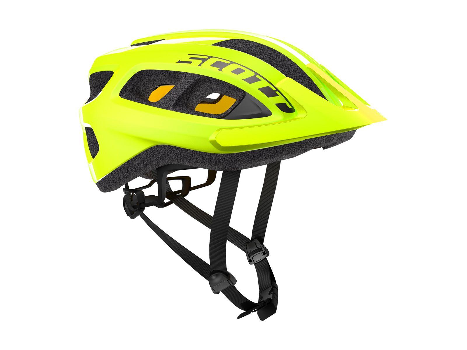 Fluorescent Yellow Neon Bike Helmet Mountain Bike Helmets