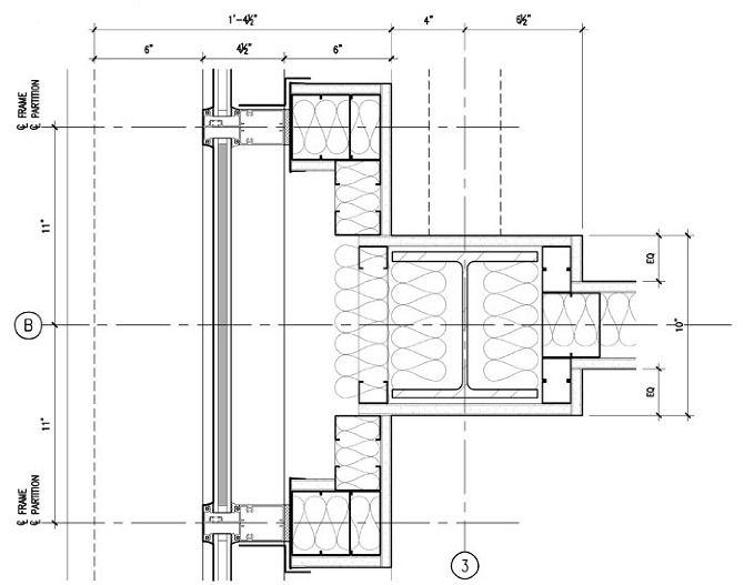 A402 Exterior Plan Details Curtain Wall Web Jpg 670 527 Curtain Wall Detail Curtain Wall Cool House Designs