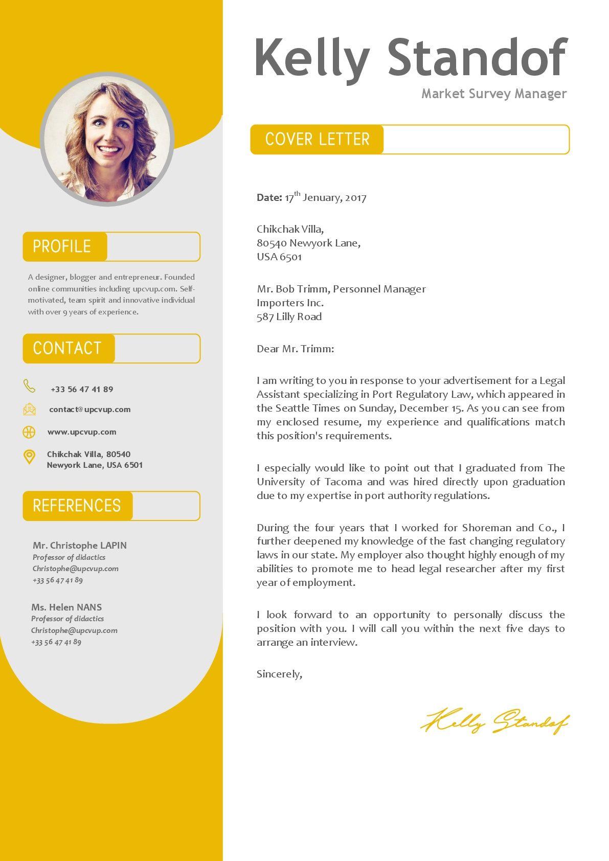 modèle Lettre de motivation à télécharger en format Word - upcvup | Modèle lettre de motivation ...