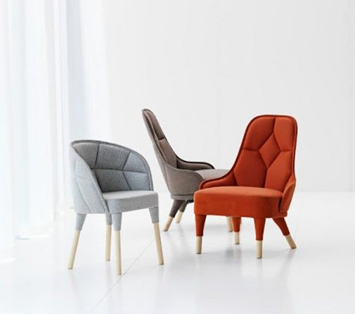 The Lovely Modern Chairs Collection With Elegant And Comfortable Designs  Named Emma And Emily