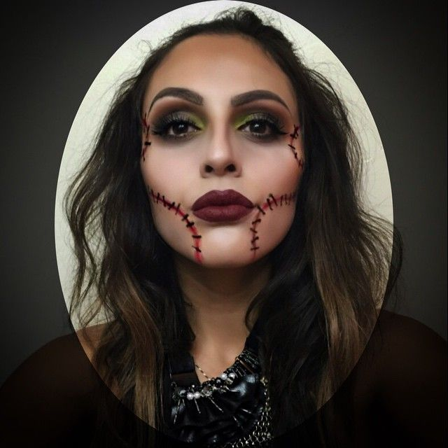 20 Seriously Cool (and Easy) Halloween Makeup Ideas | Scary clown ...