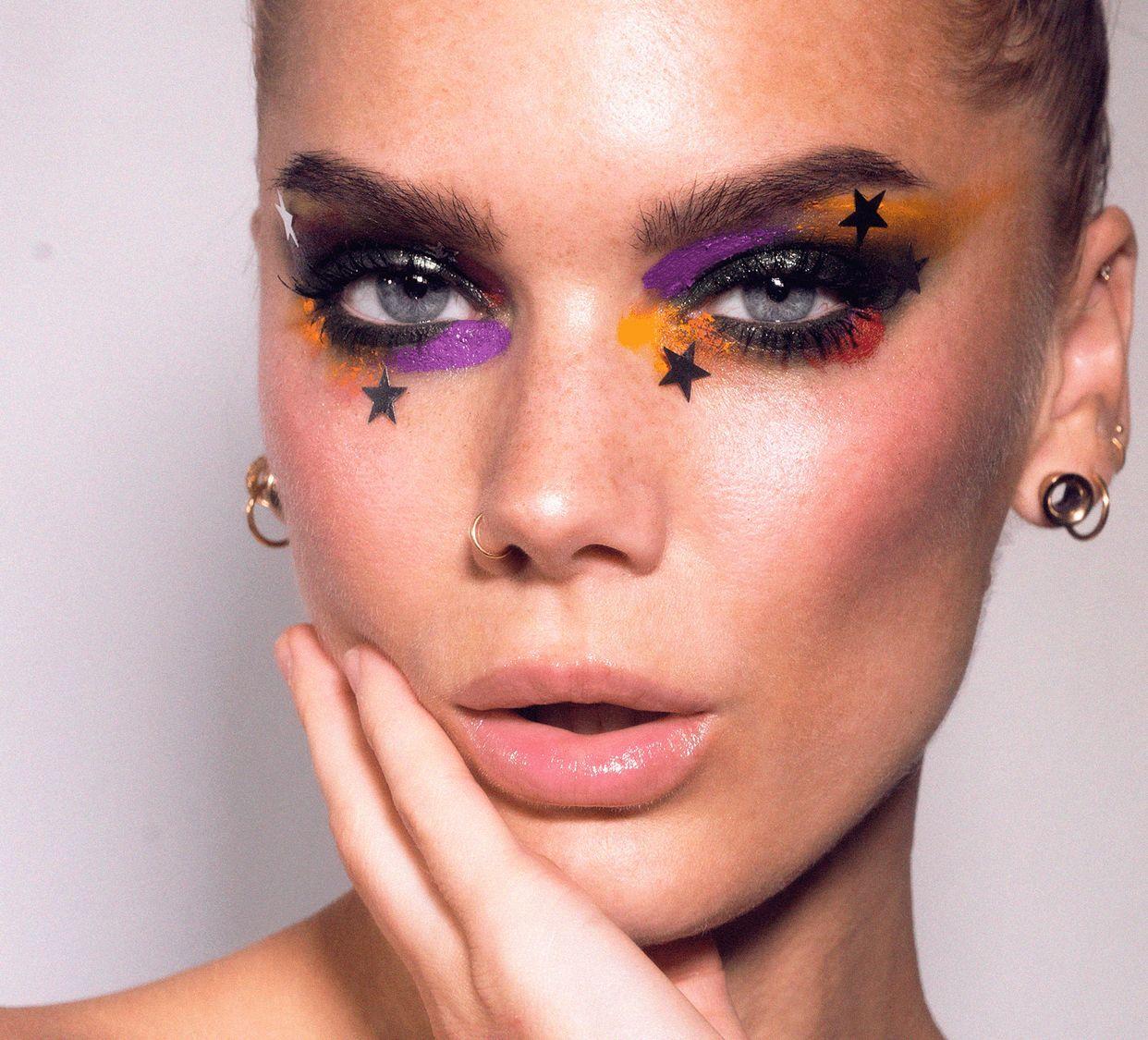 Todays look | Glam (Lindas Sminkblogg) | Winged eyeliner