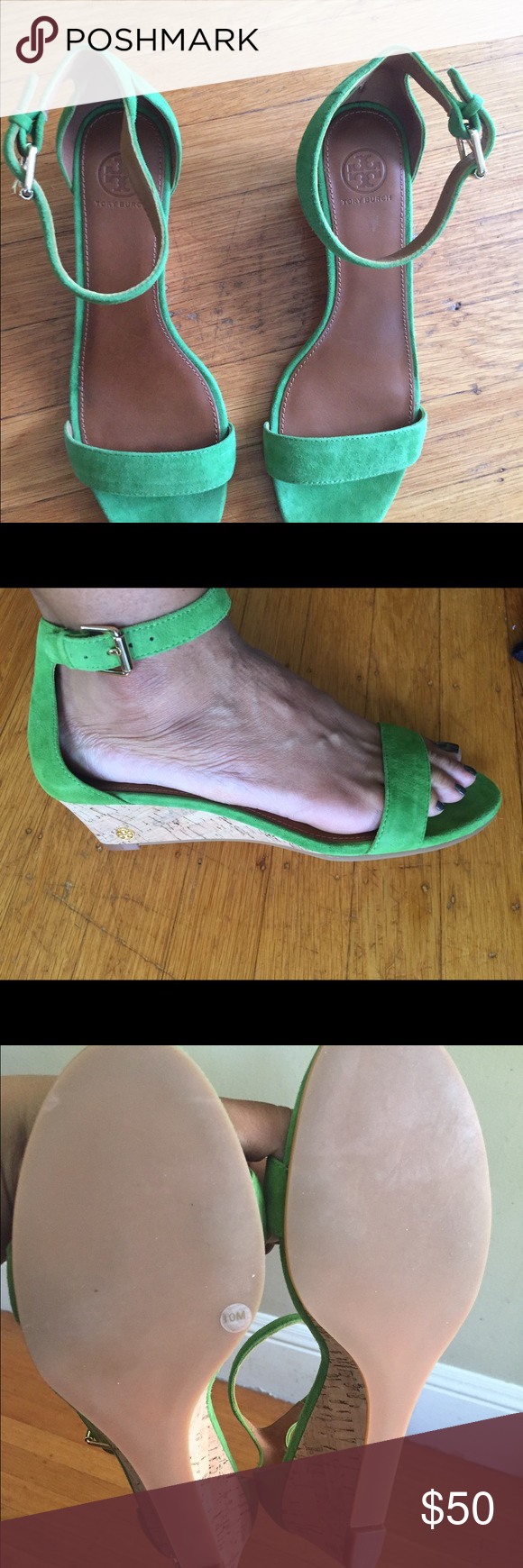 2fe3e050b5d6 Tory Burch wedge sandal Gorgeous (NIB) Tory Burch savannah 45 mm wedge  sandal in