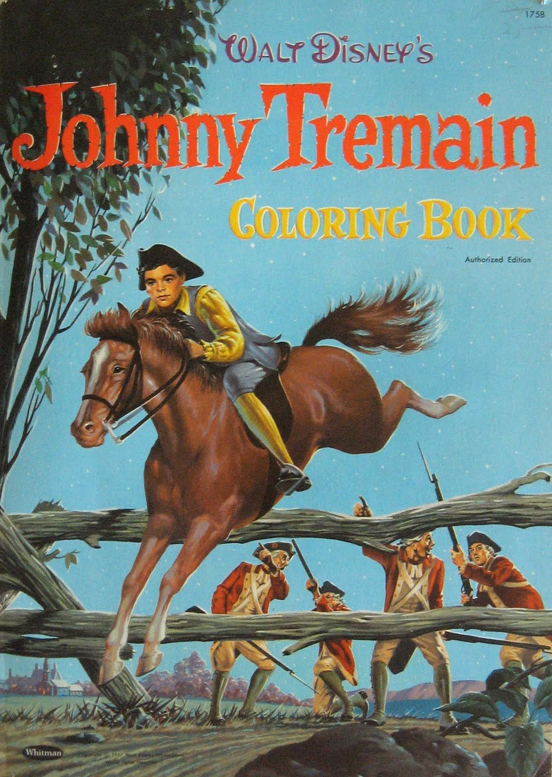 Johnny Tremain Coloring Book