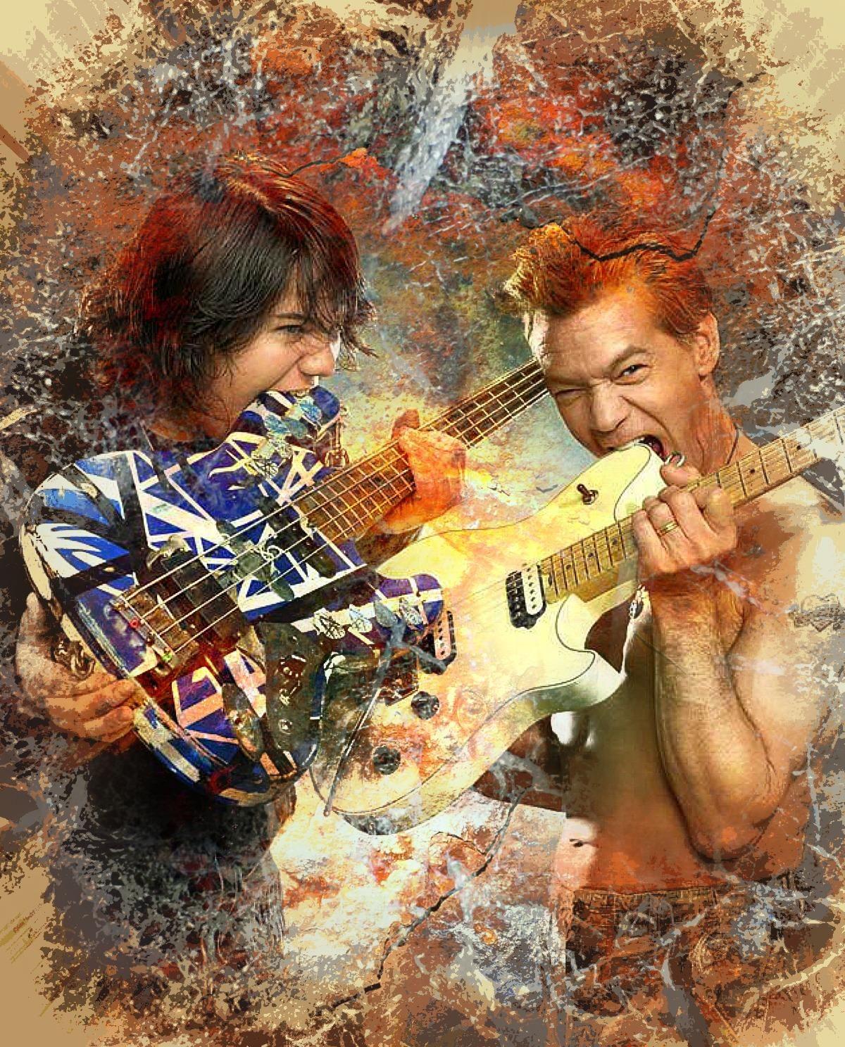 Pin By Ed Vendetti On Van Halen 5 Eddie Van Halen Van Halen 5150 Van Halen
