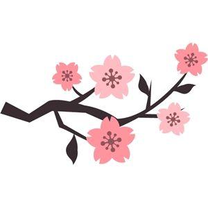 Silhouette Design Store Cherry Blossom Art Stencil Designs Blossom Design