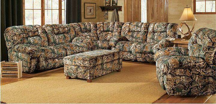 Camo Living Room Set