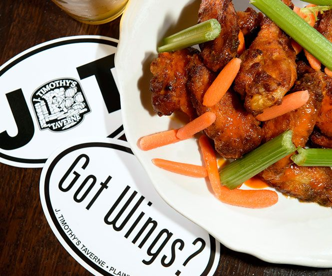 Wings CT | Burgers | Family Restaurant | J. Timothy's Plainville CT