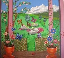 Zobacz zdjęcie Dzieło mojej siostry w moim pokoju:)