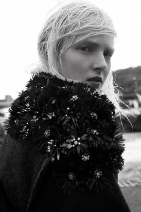 "classicmodels: "" Maja Salamon By Agata Pospieszyńska For Vogue Ukraine October 2014 """