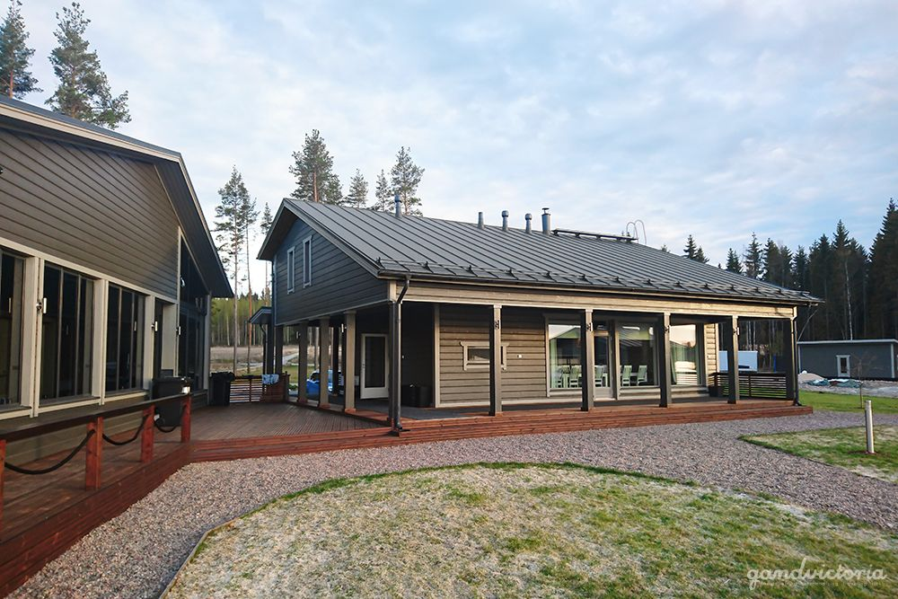 Villa Sikuri in Hämeenkyrö, Finland. | qandvictoria.wordpress.com