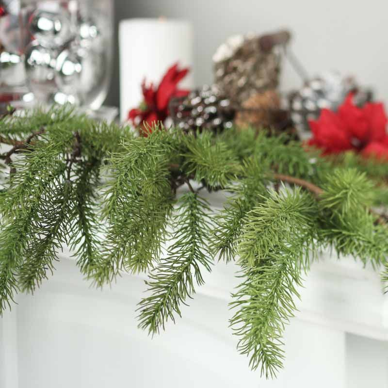 Artificial Evergreen Garland Christmas Decorations