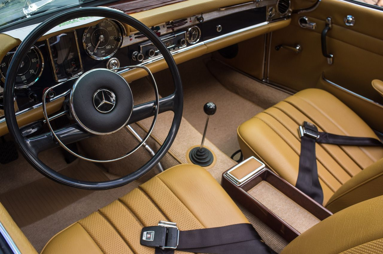 Mercedes Benz With Leather Interior Car Interiors