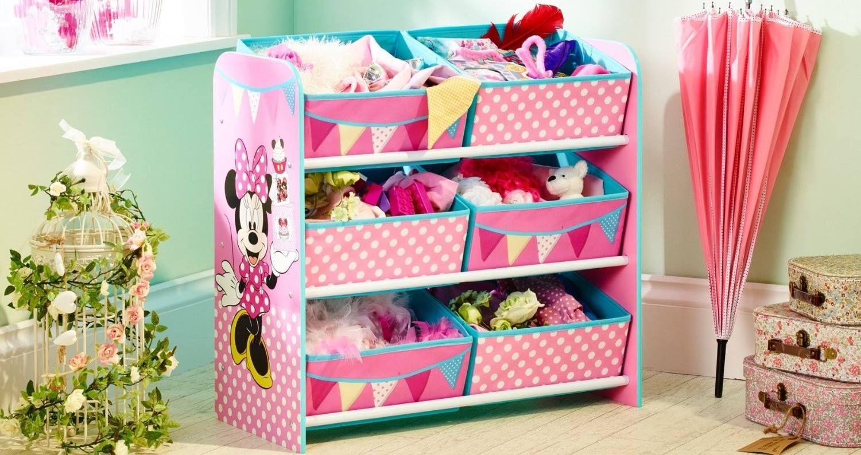 Organizador de juguetes Minnie Mouse Disney ideal para el uso de ...