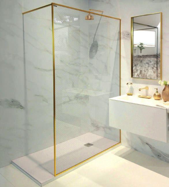 Dernière tendance dans les salles de bains #doucheitalienne
