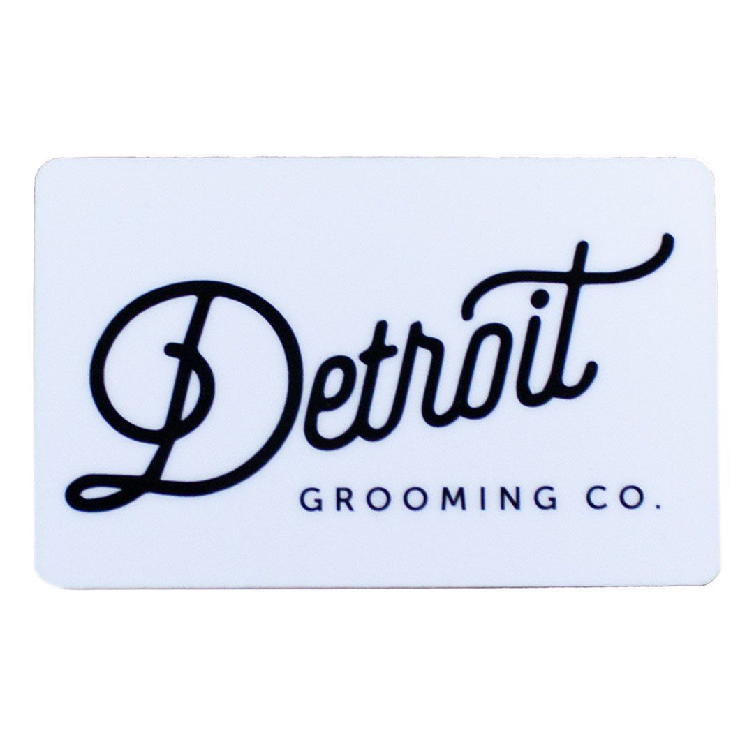 Detroit grooming gift card gifts cards favorite person