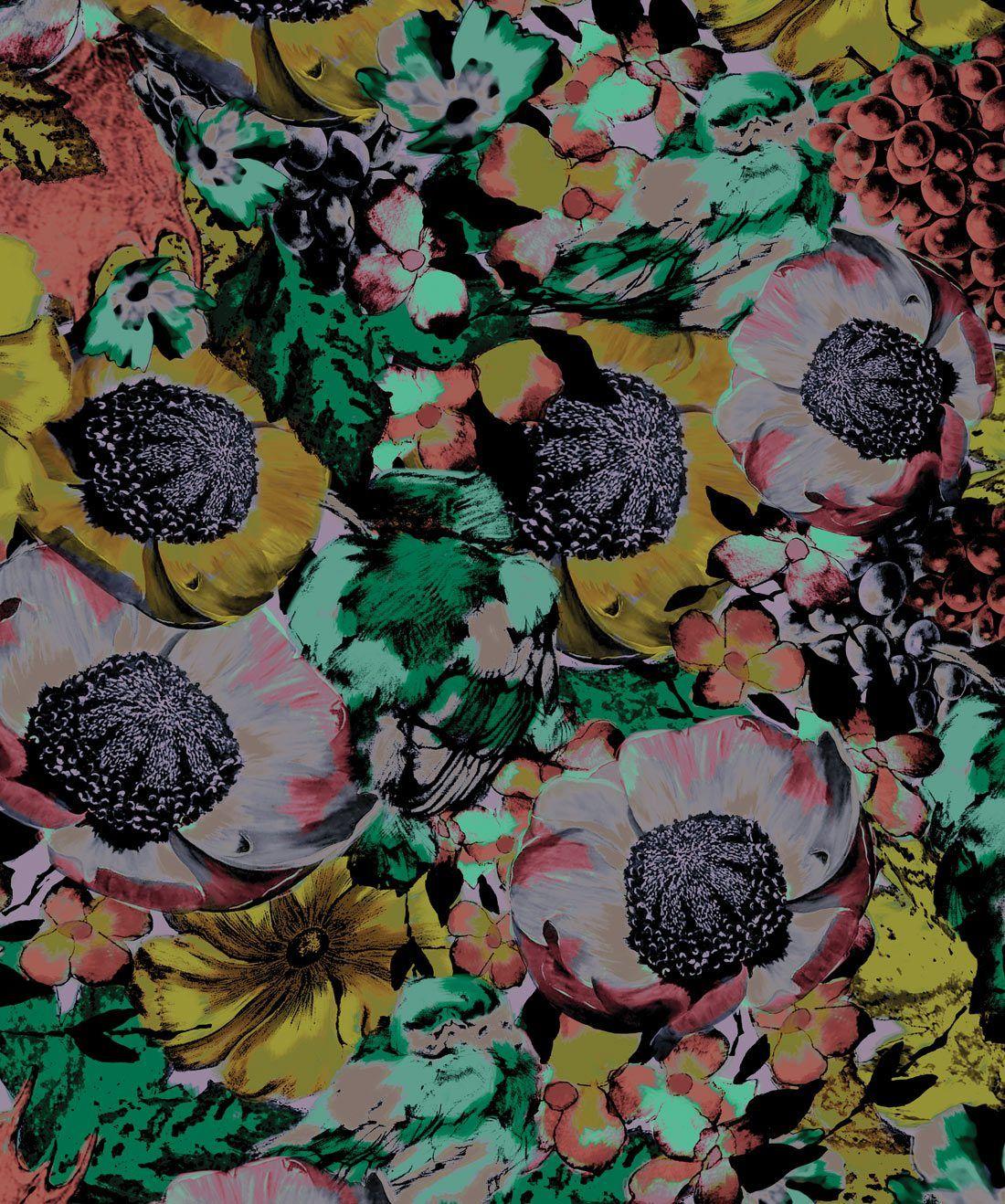 Felicity A Bold Floral Wallpaper Wallpaper Floral