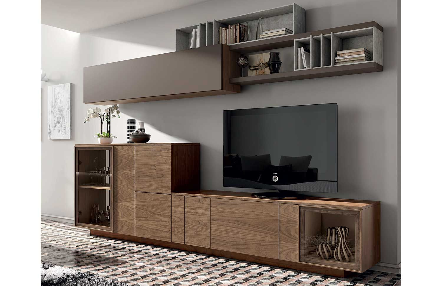 Dm Muebles Salon Escandinavo Nordik 5 Material Dm Densidad Media Dm