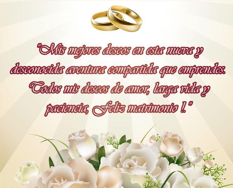 Mensajes Mensajes De Felicitacion A Los Recien Casados