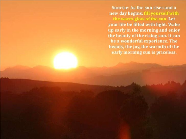 Quotes About Sunrise Impressive Good Night Quotes  Sunrise Quotes With Images To Share  Google .