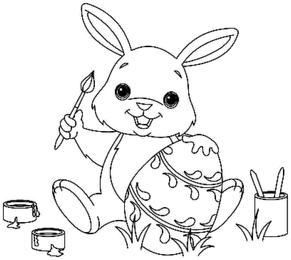 Cute Easter Bunnies Coloring Pages Bunny Coloring Pages Easter Bunny Colouring Christmas Coloring Pages