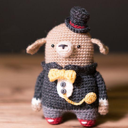 Earl dog pocket amigurumi | amigurumi | Pinterest
