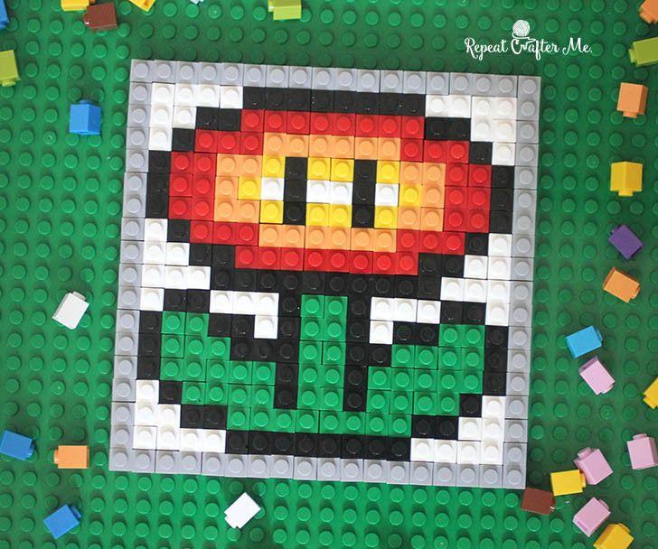 Lego pixel art repeat crafter me pixel art lego