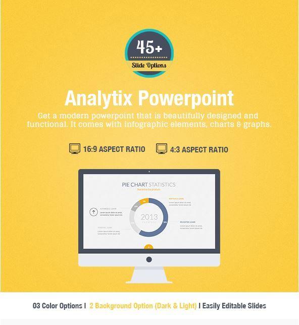 Analytix powerpoint modern business powerpoint or keynote analytix powerpoint modern business powerpoint or keynote presentation template by design district toneelgroepblik Image collections
