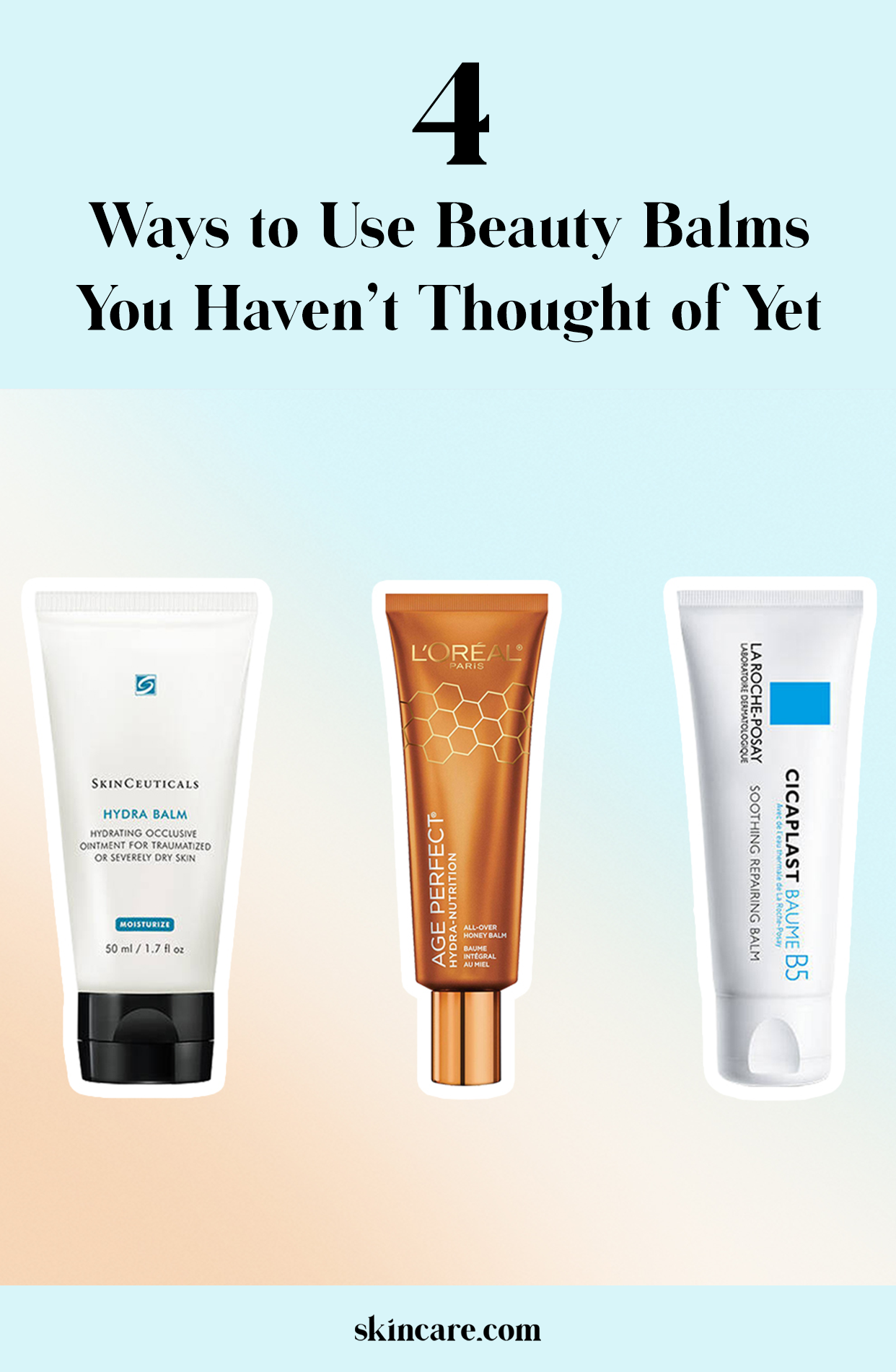4 Ways To Use Beauty Balms Skincare Com By L Oreal Beauty Balm Cleanser And Toner Dry Skin Care