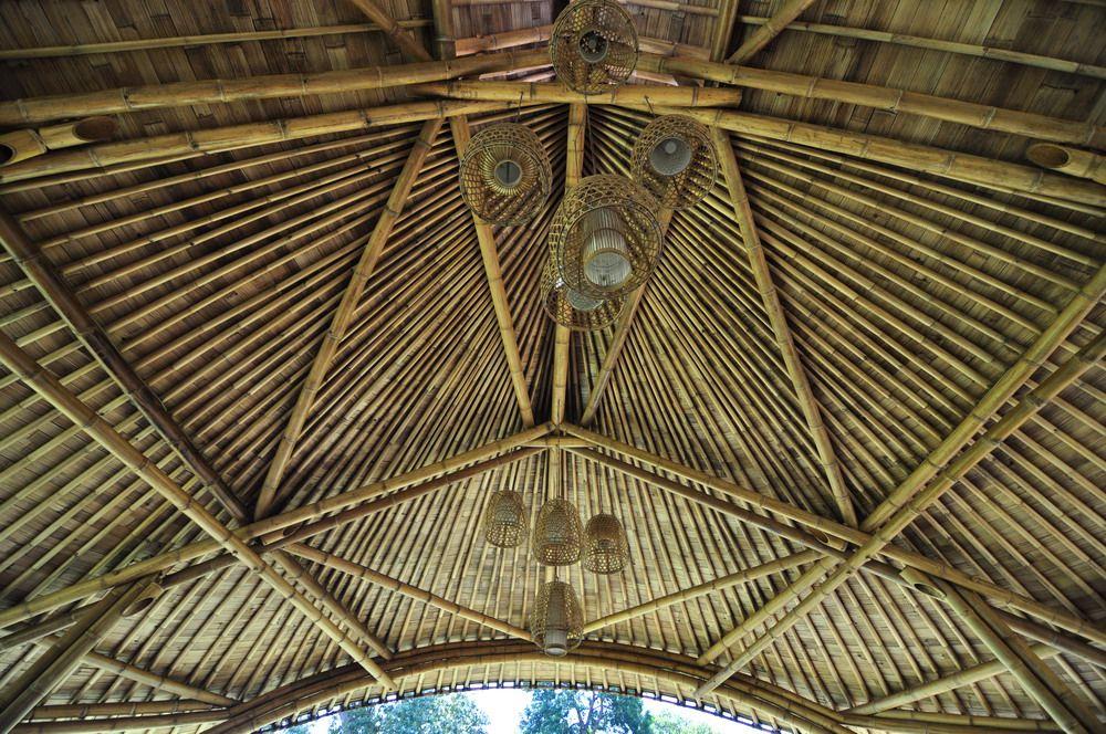 Bamboo Ceiling Bamboo Light Bamboo Design Roof Bamboo