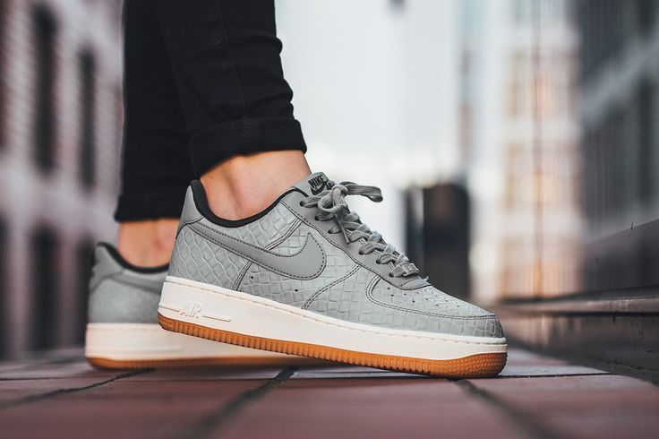 Buy Nike Air Force 1 07 Premium Womens Shoes Wolf Grey
