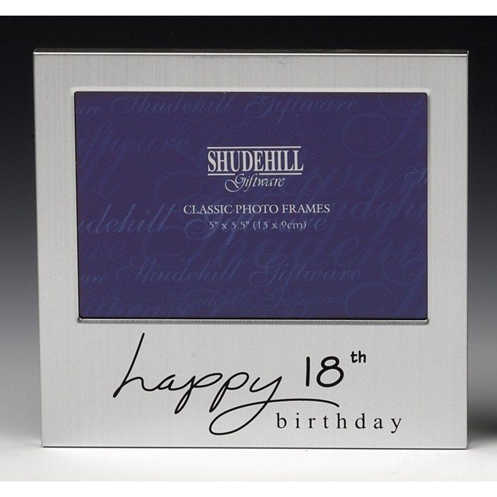 Happy 18 18th Birthday Gifts Photo Frame Present Male Female Girl Him Her Boy
