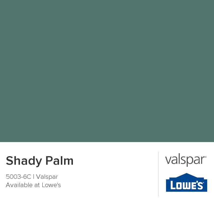 Shady Palm from Valspar Valspar Paint