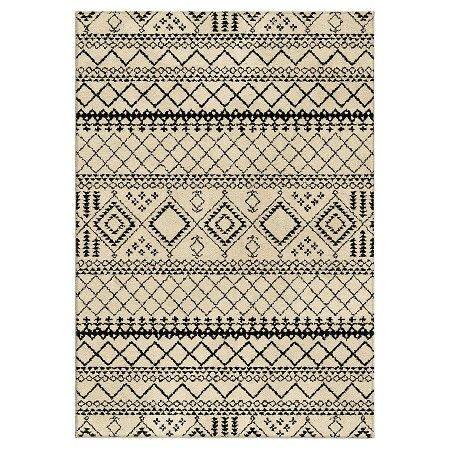 Aztec Fleece Area Rug Ivory 5 3 Quot X7 6 Quot Threshold