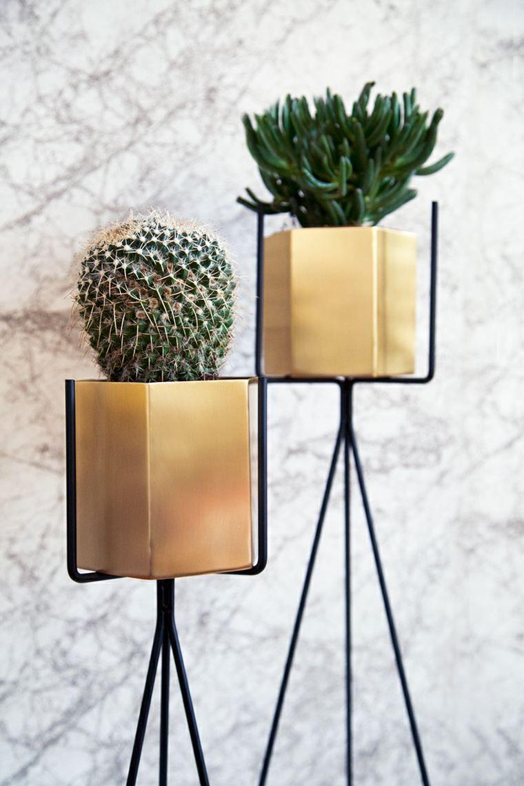 Fabuleux Porte plante et support pot de fleur intérieur de style moderne  SN36