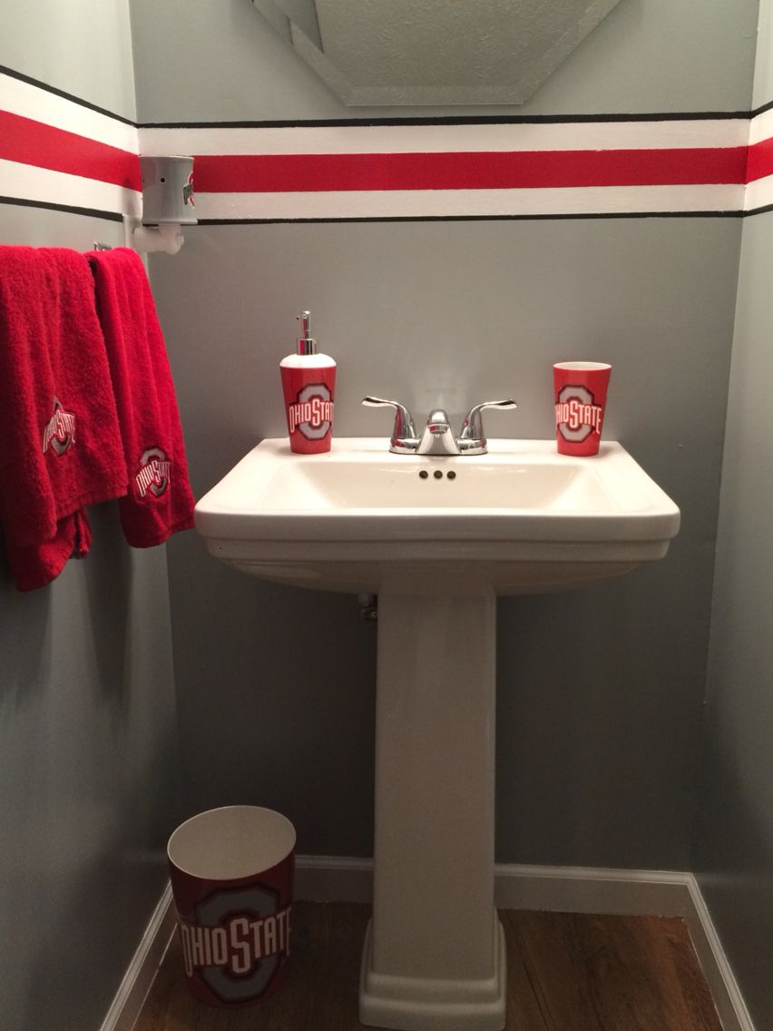Ohio State Bathroom Pinteres Rh Pinterest Com Accessories