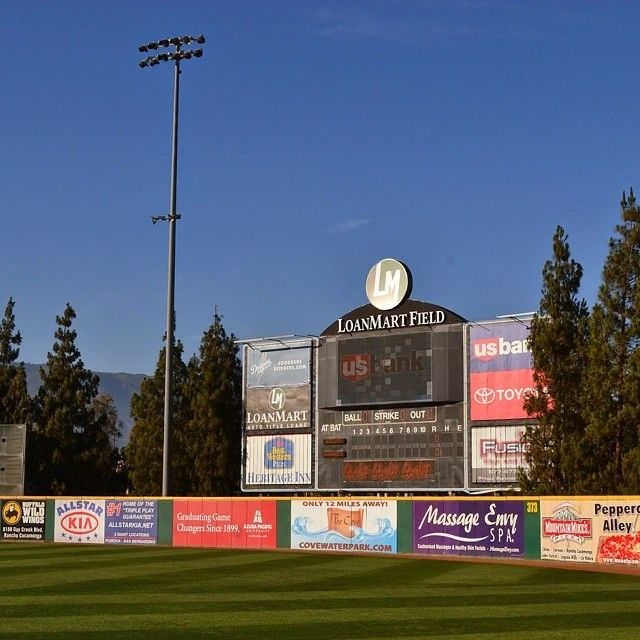 Rancho Cucamonga Quakes Los Angeles Dodgers Class A Affiliate