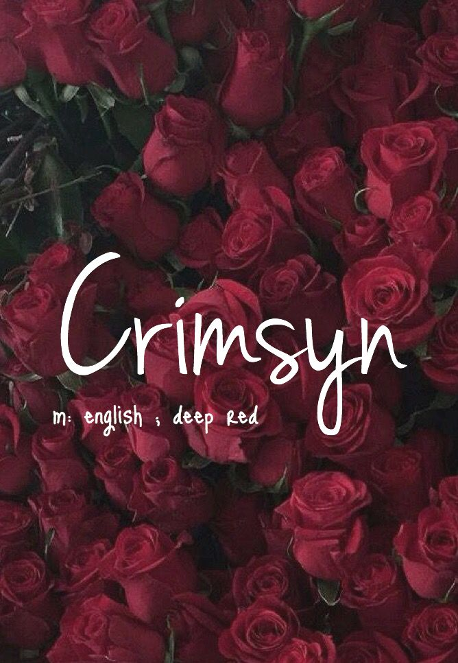 Crimsyn Is A Beautiful Name I Think Will Come Blue Eyes Or Brown