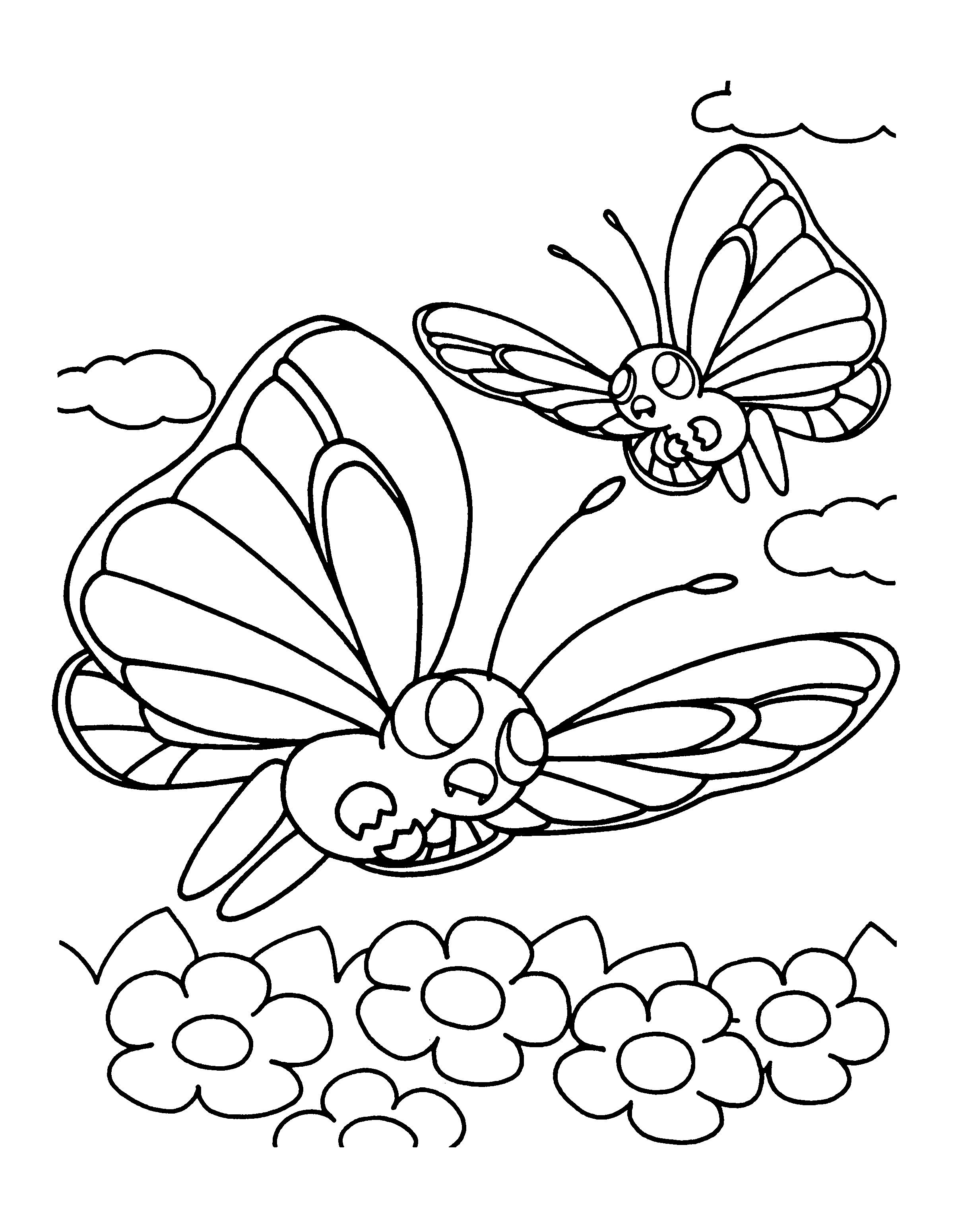 Pokemon Coloring Pages Butterfree From The Thousand Pictures On The Internet Regarding Pokemon Colorin Pokemon Coloring Pokemon Coloring Pages Coloring Pages