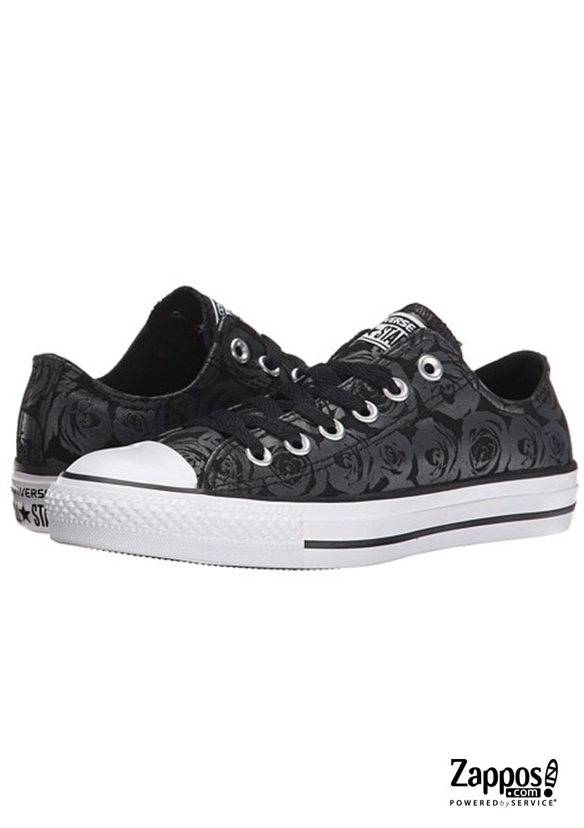 71b5927111811c Stop and smell the roses in the Converse® Chuck Taylor All Star® Rose Print  Ox sneaker.