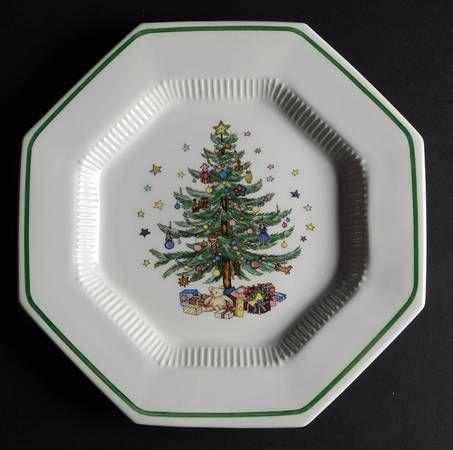 Nikko Ceramics Happy Holidays Dinner Plates Set of 4 & Nikko Christmastime at Replacements Ltd | mine | Pinterest | Nikko