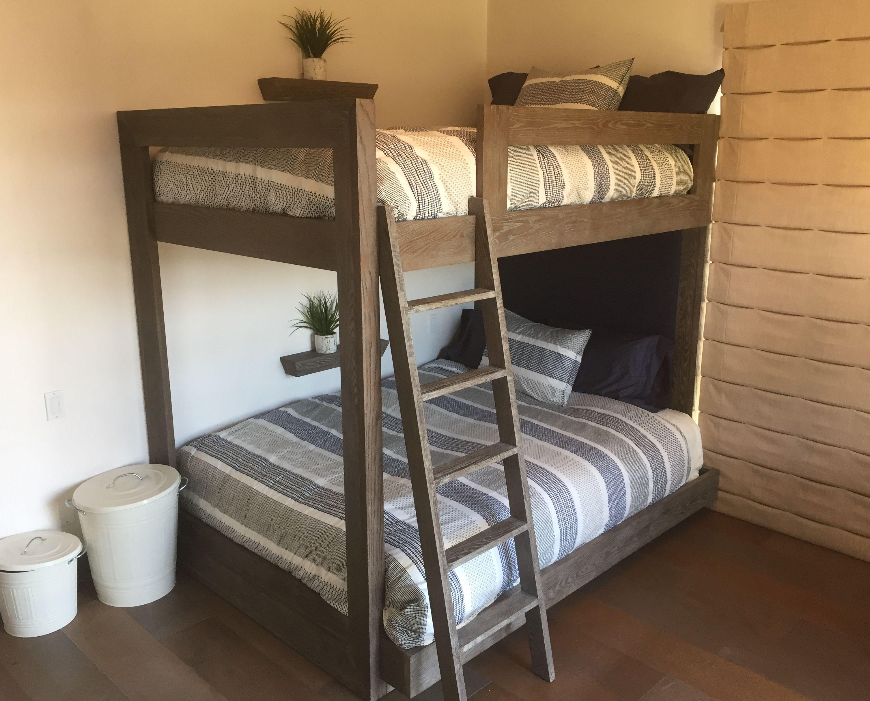 Full extra long over queen bunk bed Camas, Camas