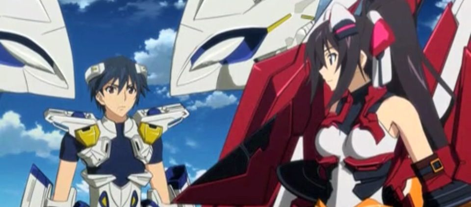 Infinite stratos all about loving each other