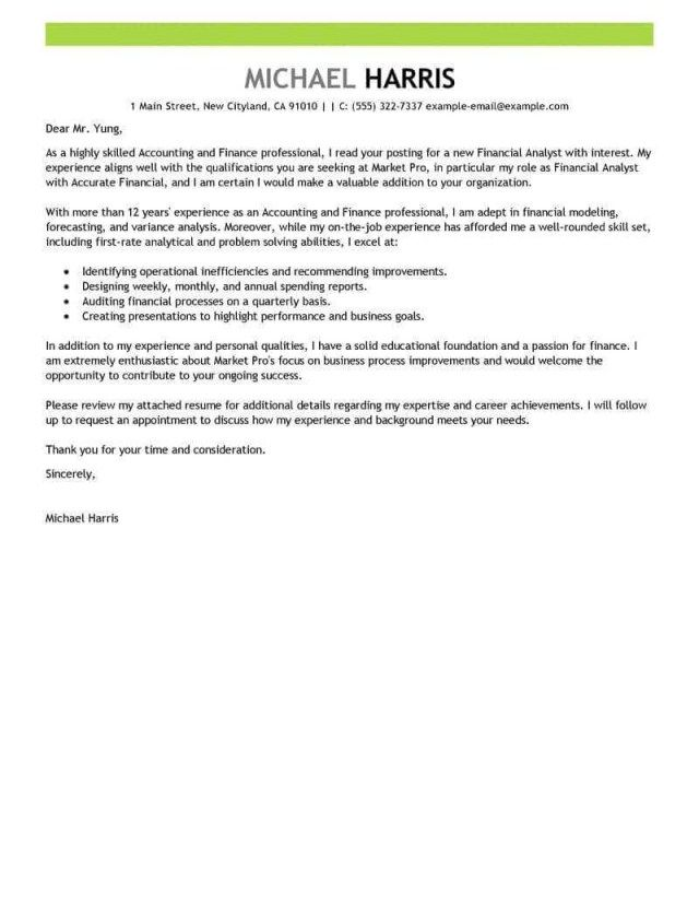 25+ Job Application Cover Letter Cover Letter Examples For Job